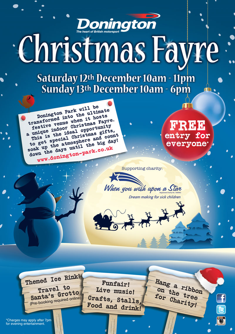 Donington Park Christmas Fayre   When You Wish Upon A Star ...
