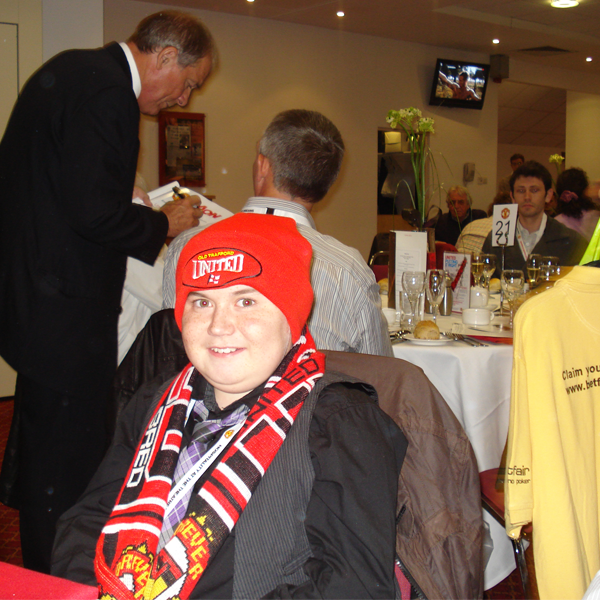 Jack Meets Fred the Red on a VIP Day to Remember