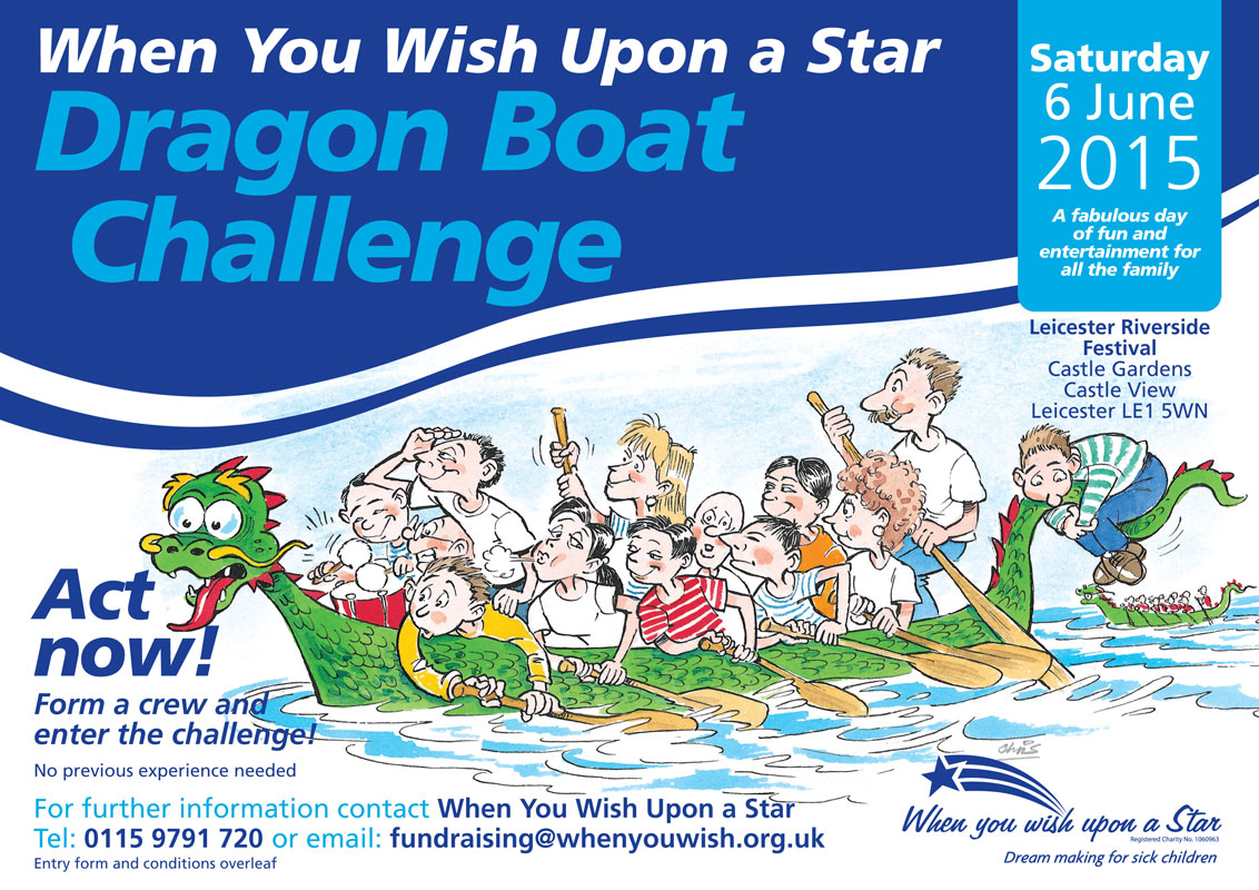 Dragon Boat Challenge Leicester Flyer 2015 img