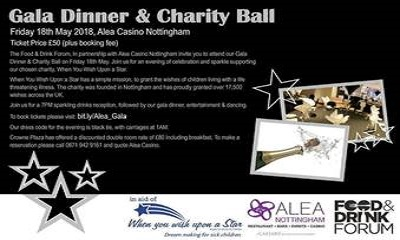 Alea Casino Present a Gala Dinner and Charity Ball
