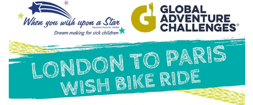 London to Paris Wish Bike Ride