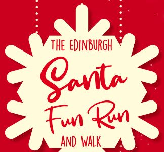 Edinburgh Santa Run 2019