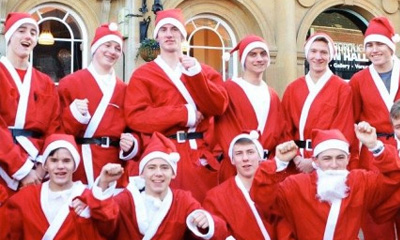 Loughborough Santa Run