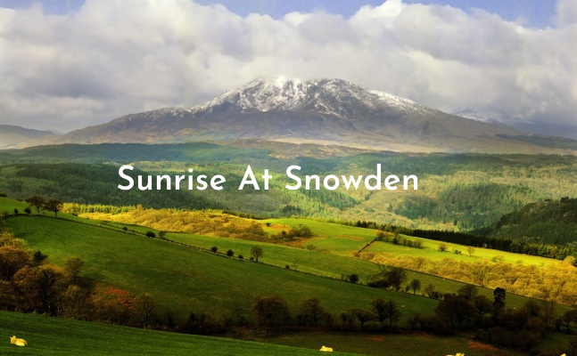 Sunrise on Snowdon