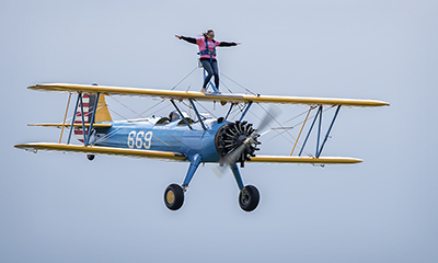 Wing Walk at Wickenby