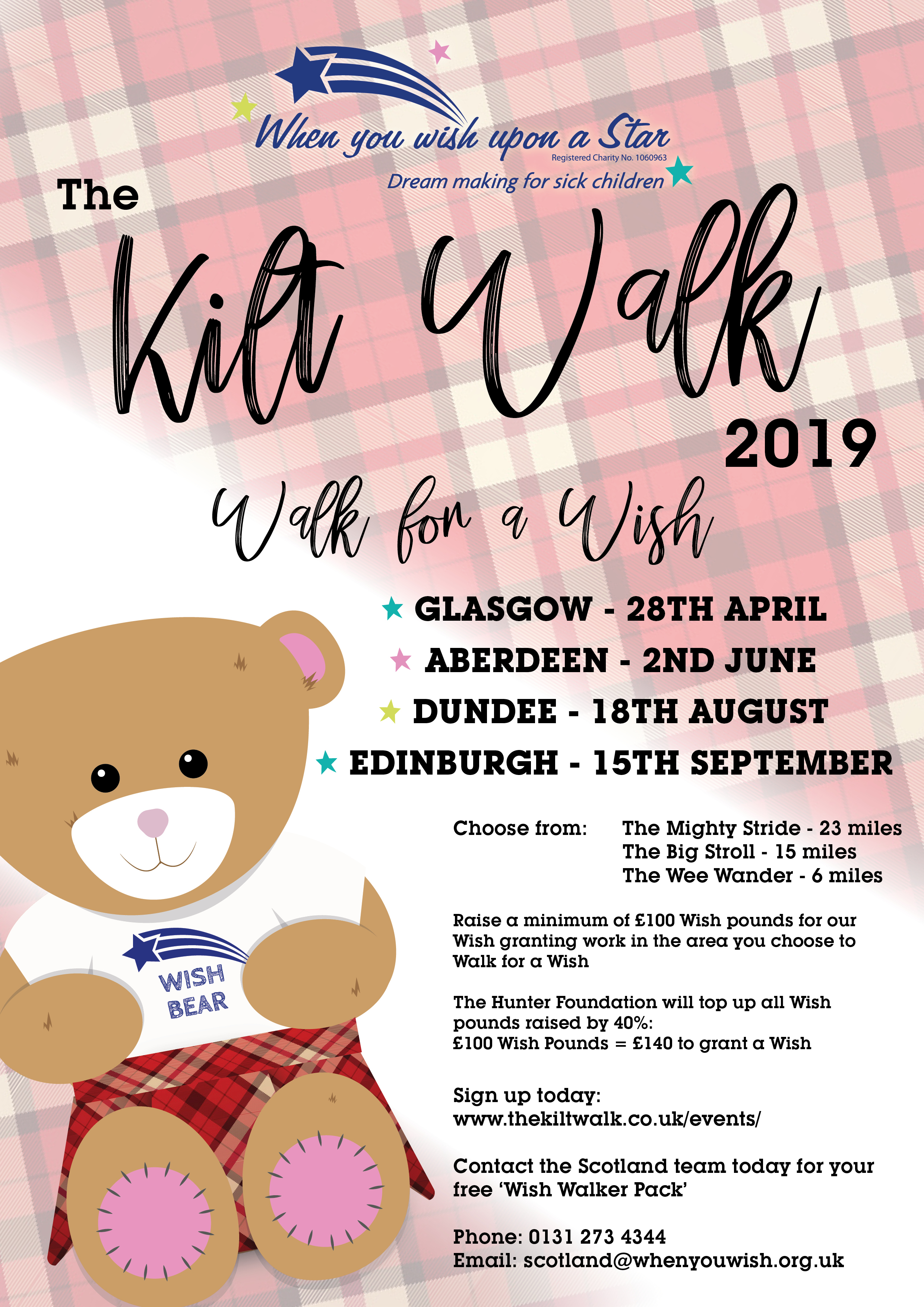 Kiltwalk 2019 - Glasgow