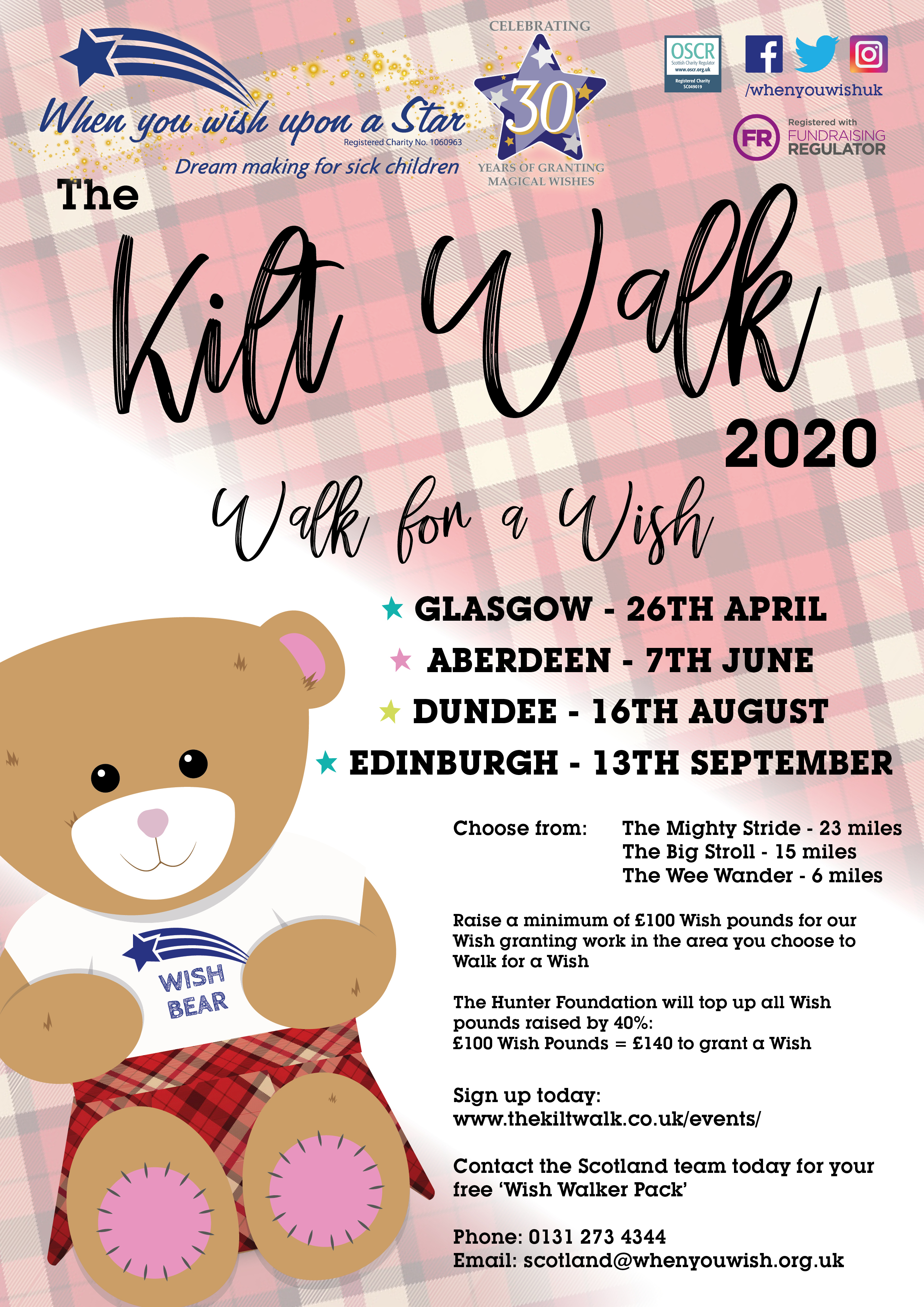 KiltWalk2020 Glasgow