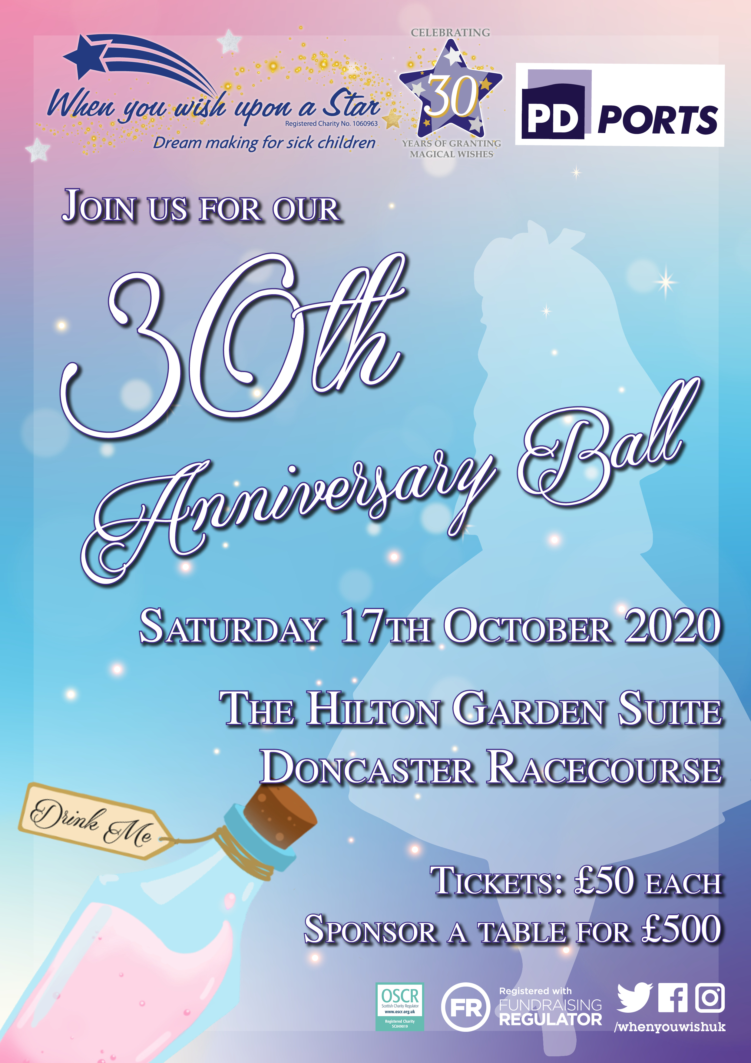 30th Anniversary Ball POSTPONED UNTIL FURTHER NOTICE