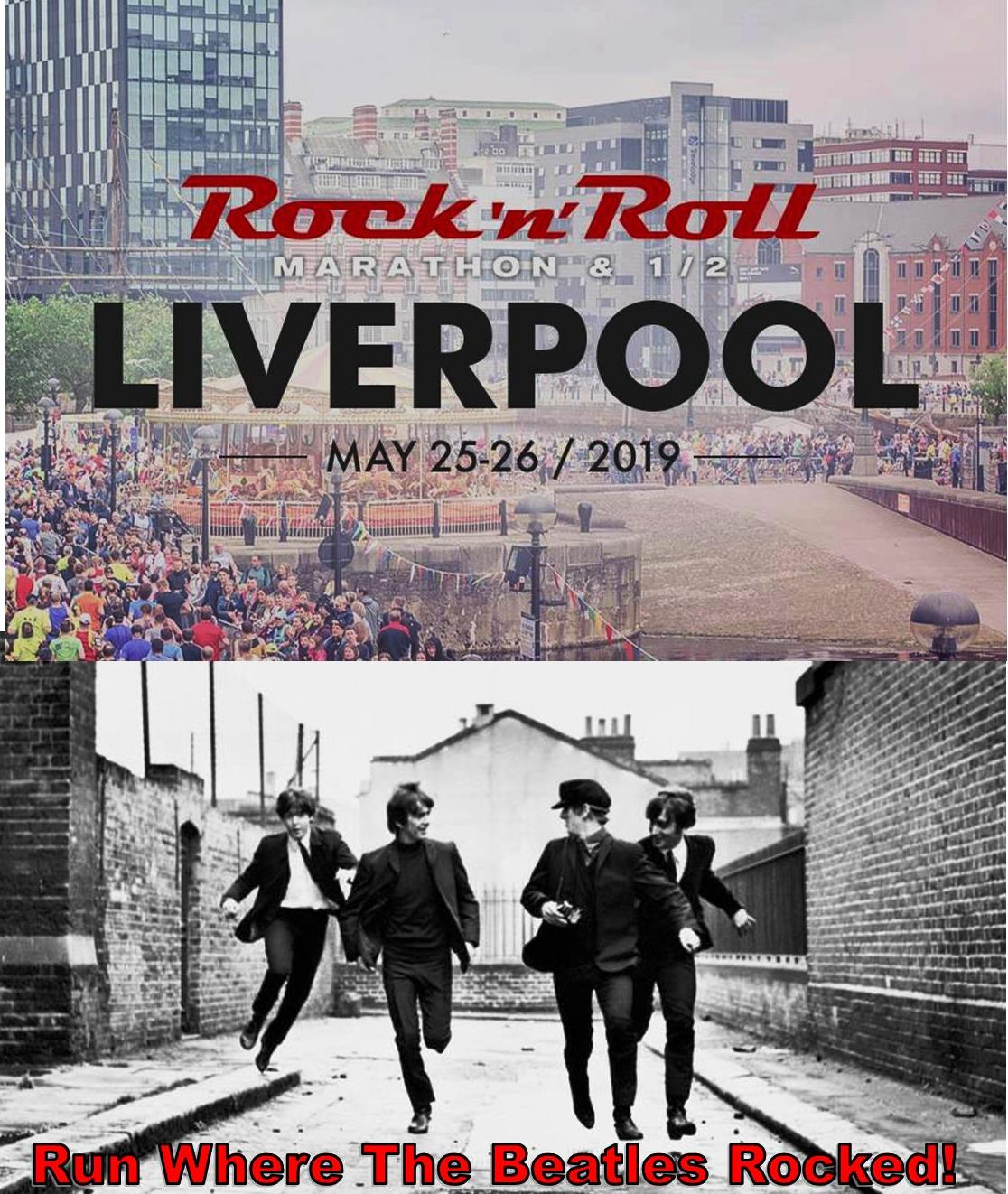 Liverpool Rock n Roll Race Weekend