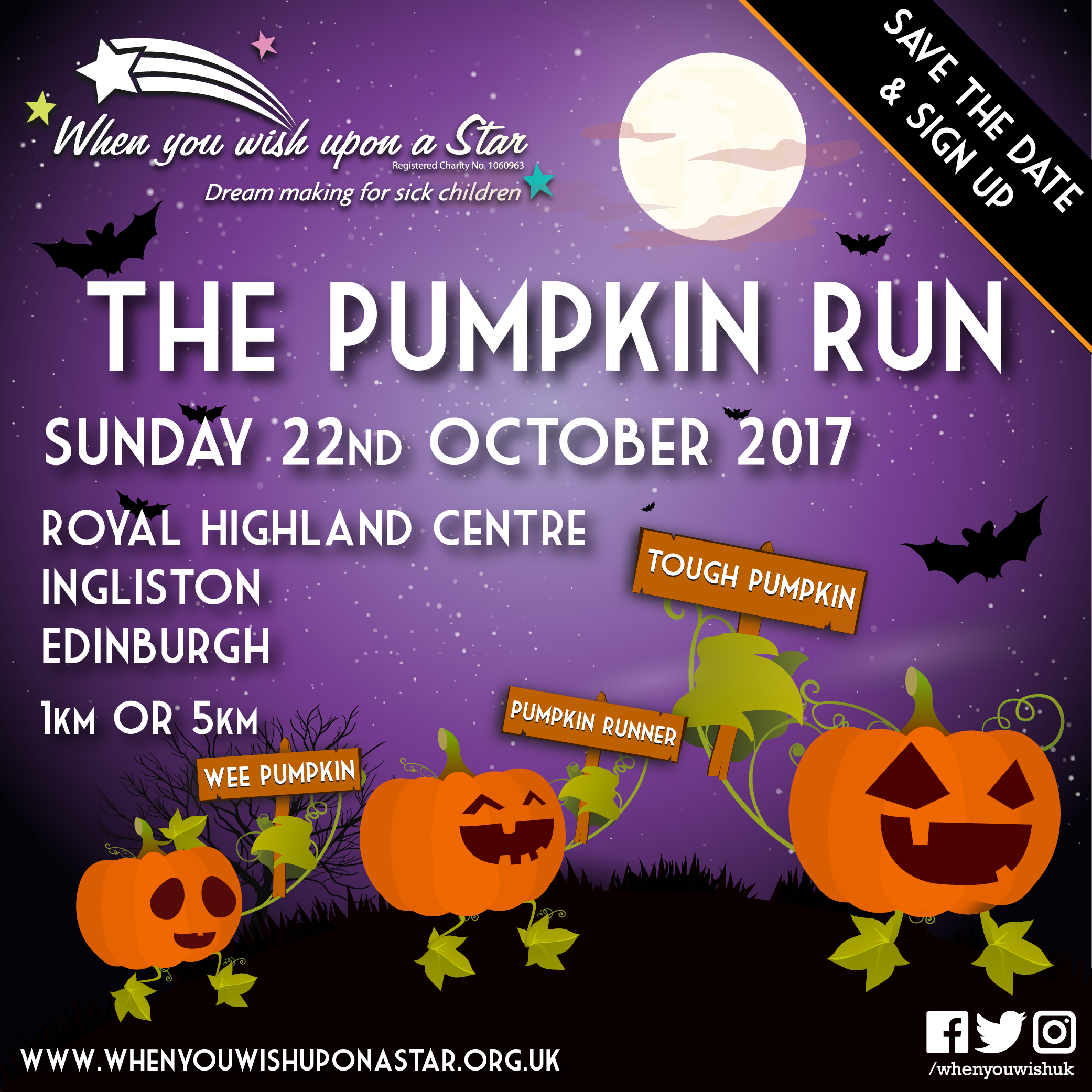 PumpkinRun 2017 save the date