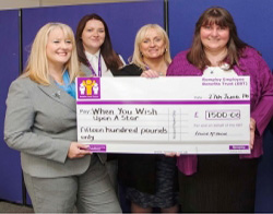 Remploy staff make wishes come true