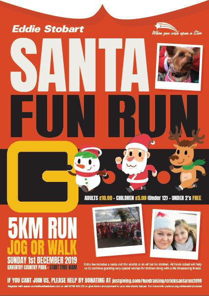 Eddie Stobbart Santa Fun Run