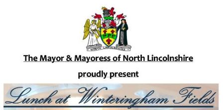 Mayor's Lunch at Winteringham Fields Restaurant